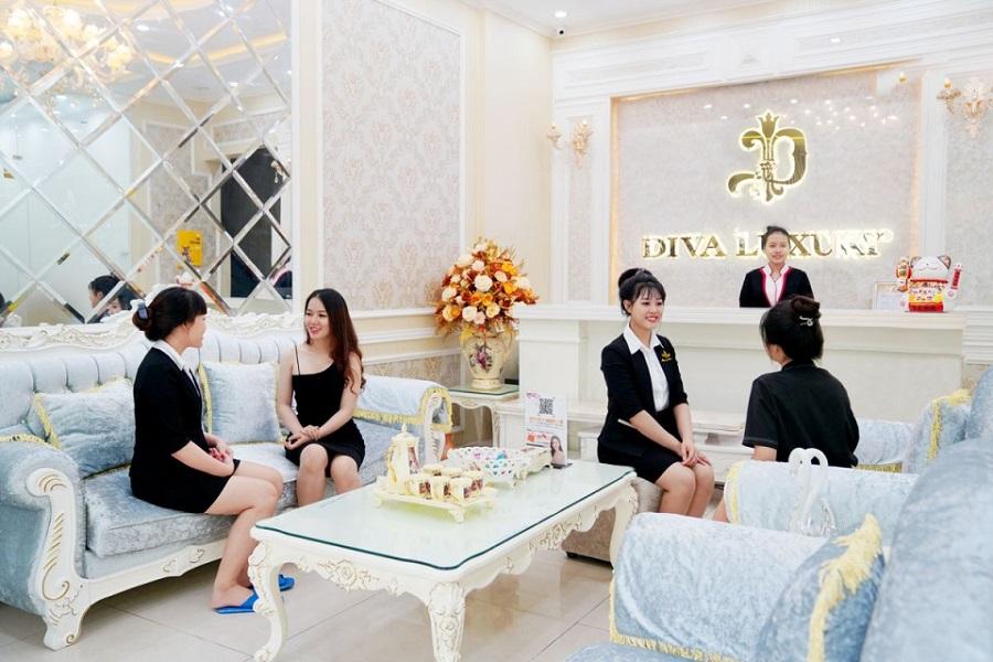 Diva Spa Gia Nghĩa có không gian hoàn hảo